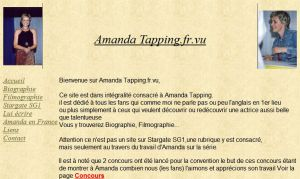 Amanda Tapping Website FR