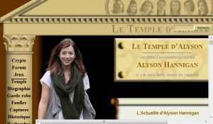 Site officiel  temple-alyson net