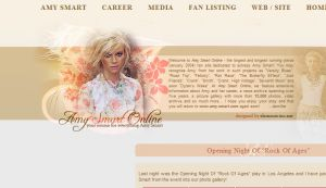 » AMY SMART ONLINE |    www.amy-smart.com   •  your source for everything Amy Smart