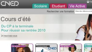 Site officiel : http://www.cned.fr