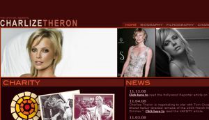 The OFFICIAL site of Charlize Theron