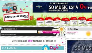 Site officiel : http://www.routedesfestivals.com