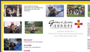 Site officiel : http://www.scouts-europe.org