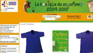 Site officiel : http://www.laboutiqueduscoutisme.com