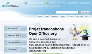 Site officiel : http://fr.openoffice.org