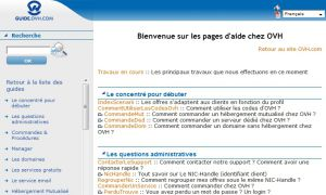 Site officiel : http://guides.ovh.com