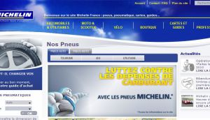 Site Officiel www michelin fr