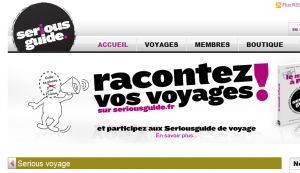 Site officiel : http://www.seriousguide.fr