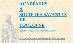 Site officiel : http://www.societes-savantes-toulouse.asso.fr
