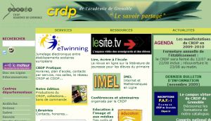 Site officiel : http://www.crdp.ac-grenoble.fr