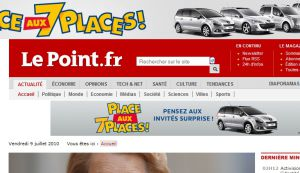 Site officiel : http://www.lepoint.fr