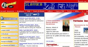 Site officiel : http://www.russie.net