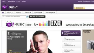 Site officiel : http://new.fr.music.yahoo.com