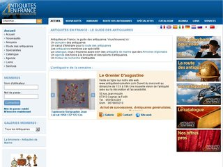 Site officiel : http://www.antiquites-en-france.com