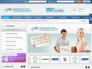 Site officiel : http://www.vente-equipement-medical.fr