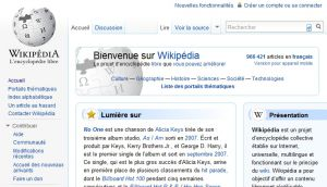 Site officiel : http://fr.wikipedia.org