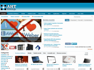 Site officiel : http://www.actualites-high-tech.com