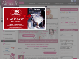 Site officiel : http://www.aimee.fr