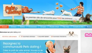 Site officiel : http://www.pets-dating.com