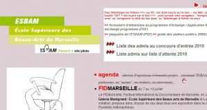 Site officiel : http://www.esbam.fr