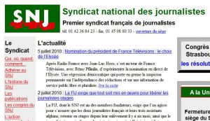 Site officiel : http://www.snj.fr