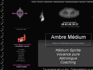 Site officiel : http://www.ambre-medium.fr/