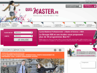 Master specialise informatique