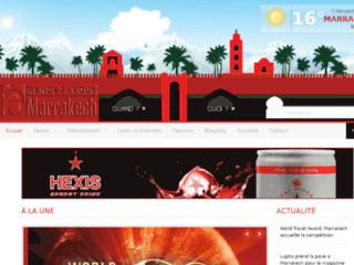 Site officiel : http://www.rdv-marrakech.com/actus/