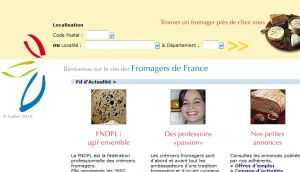Site officiel : http://www.fromagersdefrance.com