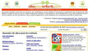 Site officiel : http://www.sitespourenfants.com