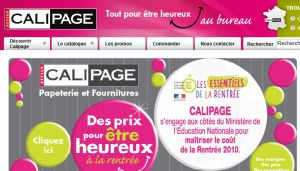Site officiel : http://www.calipage.fr