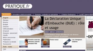 Site officiel : http://www.pratique.fr