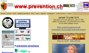 Site officiel : http://www.prevention.ch