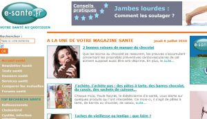 Site officiel : http://www.e-sante.fr