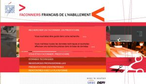 Site officiel : http://www.facon-france-habillement.com