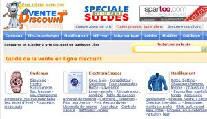 Site officiel : http://www.vente-discount.com