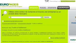 Site officiel : http://textile-habillement.europages.fr