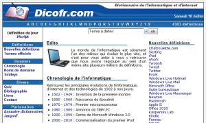 Site officiel : http://www.dicofr.com