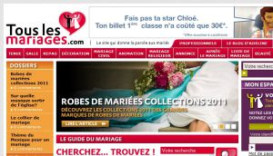 Site officiel : http://www.touslesmariages.com