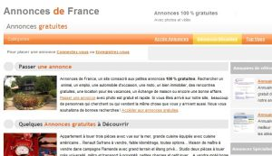 Site Officiel www annonces-de-france net