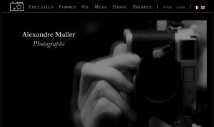 Site officiel : http://www.alexandremaller.com
