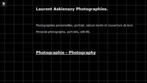 Site officiel : http://www.laurent-askienazy.com