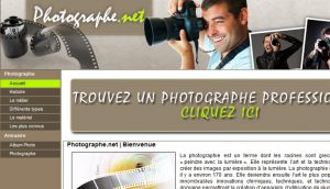 Site officiel : http://www.photographe.net