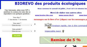 Site officiel : http://www.biorevo.fr