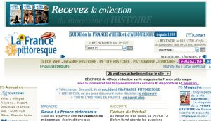 Site officiel : http://www.france-pittoresque.com