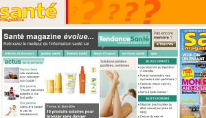 Site officiel : http://www.santemagazine.fr