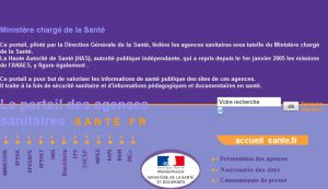 Site officiel : http://www.sante.fr