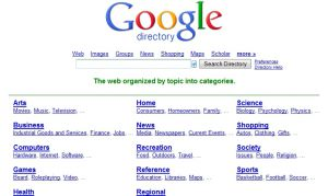 Site Officiel directory google com