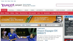 Site officiel : http://fr.sports.yahoo.com