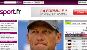 Site officiel : http://www.sport.fr